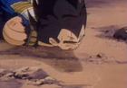 Vegeta feels to his death