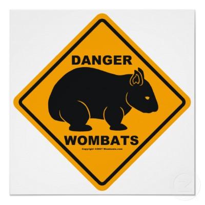File:Wombat danger road sign poster-p228548360222530092tdcp 400.jpg