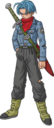 Future Trunks art super