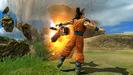Gohan attacking Goku Zenkai Royale