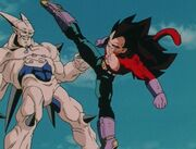 Vegeta ssj4 and omega sheeron DragonballGT-Episode061 81
