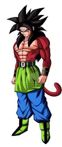 File:Son Goku AF SSJ4 by Gothax.jpg
