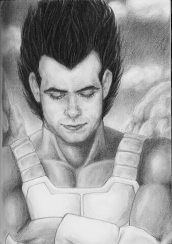 File:The Prince of Saiyans by Panzerwing0.jpg