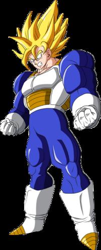 Super saiyajin tercer grado dragon ball wiki wikia - San goku super saiyan 5 ...