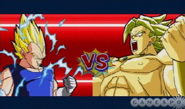 File:Vegeta Broly about to fight Shin Budokai.jpg