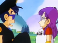 Taro and Arale
