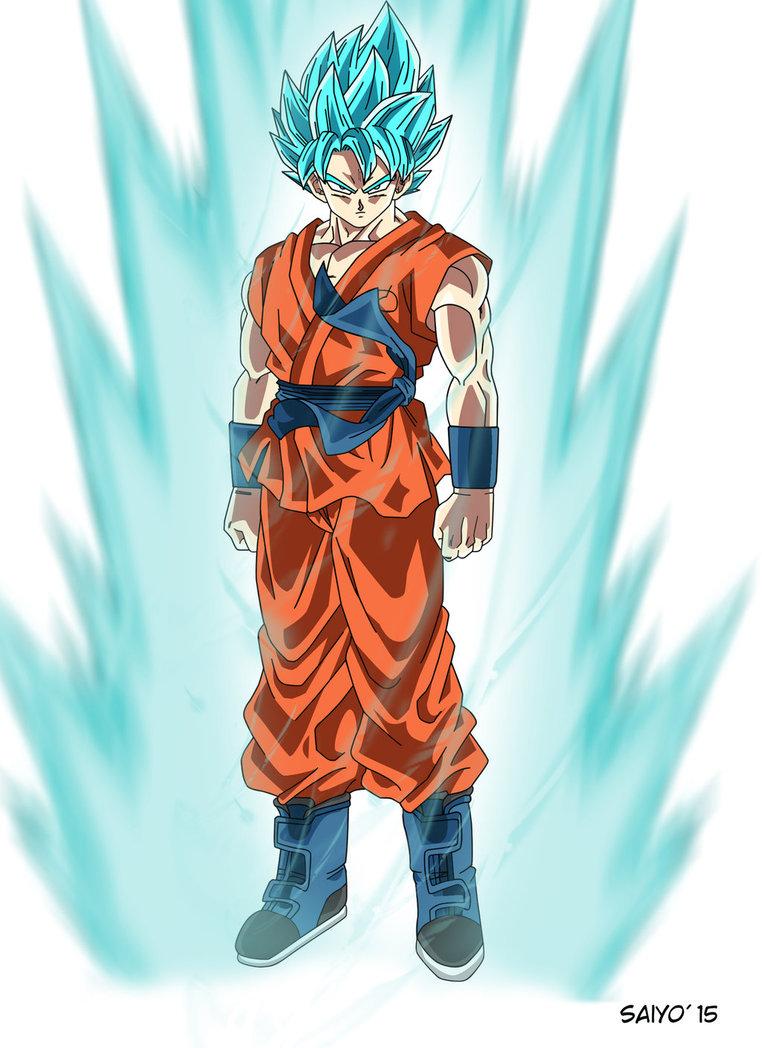 Image goku in super saiyan god blue form ssjgssj jpg - Sangoku super saiyan god ...