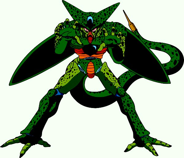 User blog piccolo the super namek which is the coolest looking form of cell imperfect cell - Super cell dbz ...
