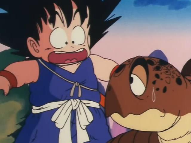 File:Goku thinks Bulma turned to a turtle.jpg