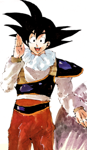 File:Goku back from space art.png