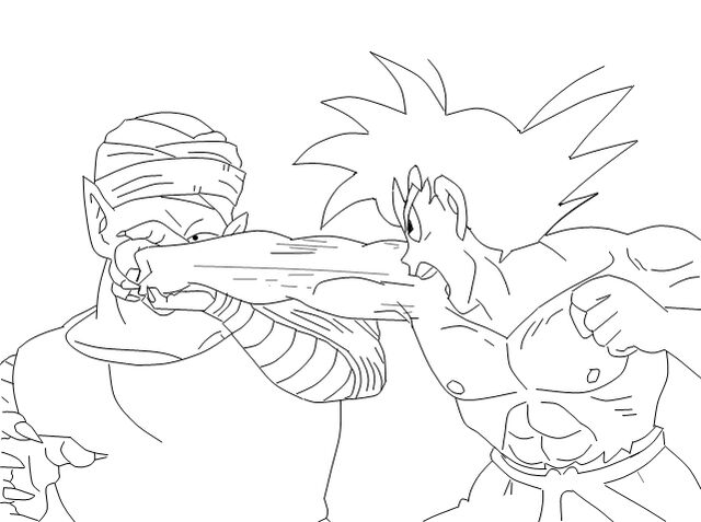 File:Goku really punches green pickle napkin in the face.jpg