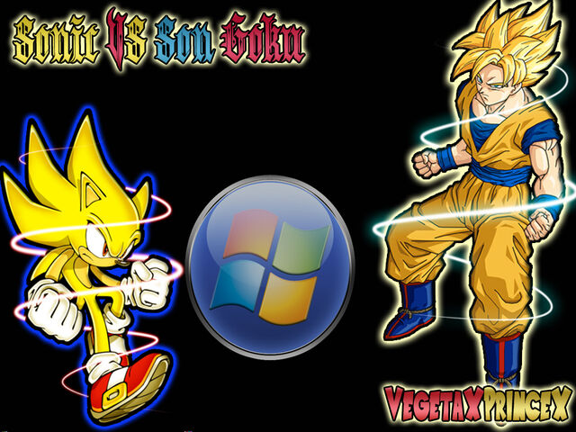 File:Sonic Vs Son Goku WallPaper by VegetaXPrinceX-2.jpg