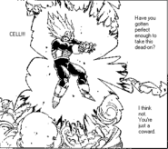 DBZ Manga Chapter 384 - Vegeta Final Flash 3
