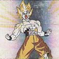 Goku power stance