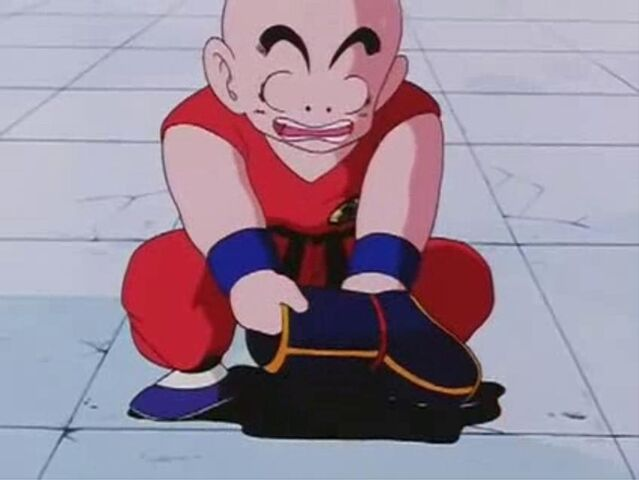 File:Krillin Lifts Goku's Weighted Boots.JPG