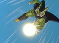 Cell charging an energy wave