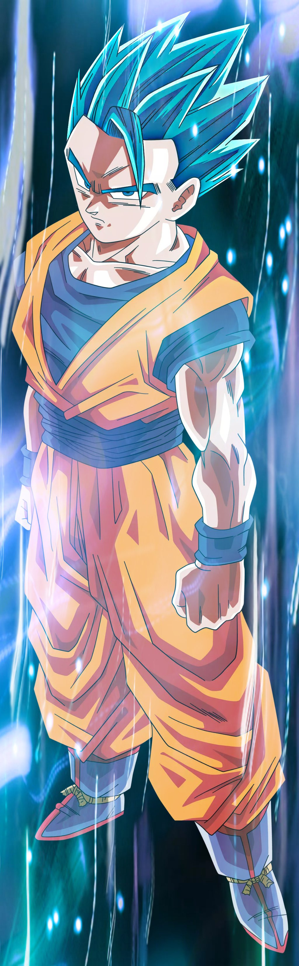 Gohan might be making a comeback but he shouldn't archive ssj blue ...