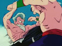 Roshi attacks first