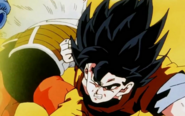 Black hair SS Goku