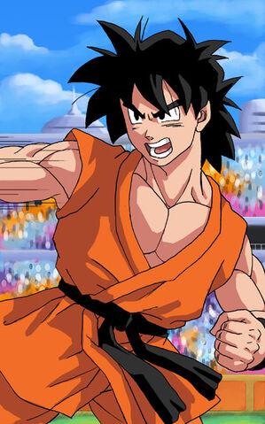 File:DBZ Teen Goten Fighting by Risachantag.jpg