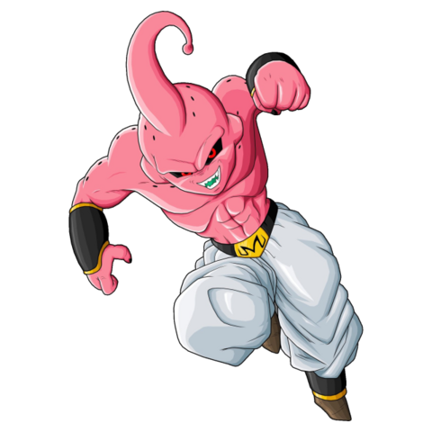 File:641px-Kid Buu by drozdoo.png