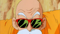 Roshi about to attack