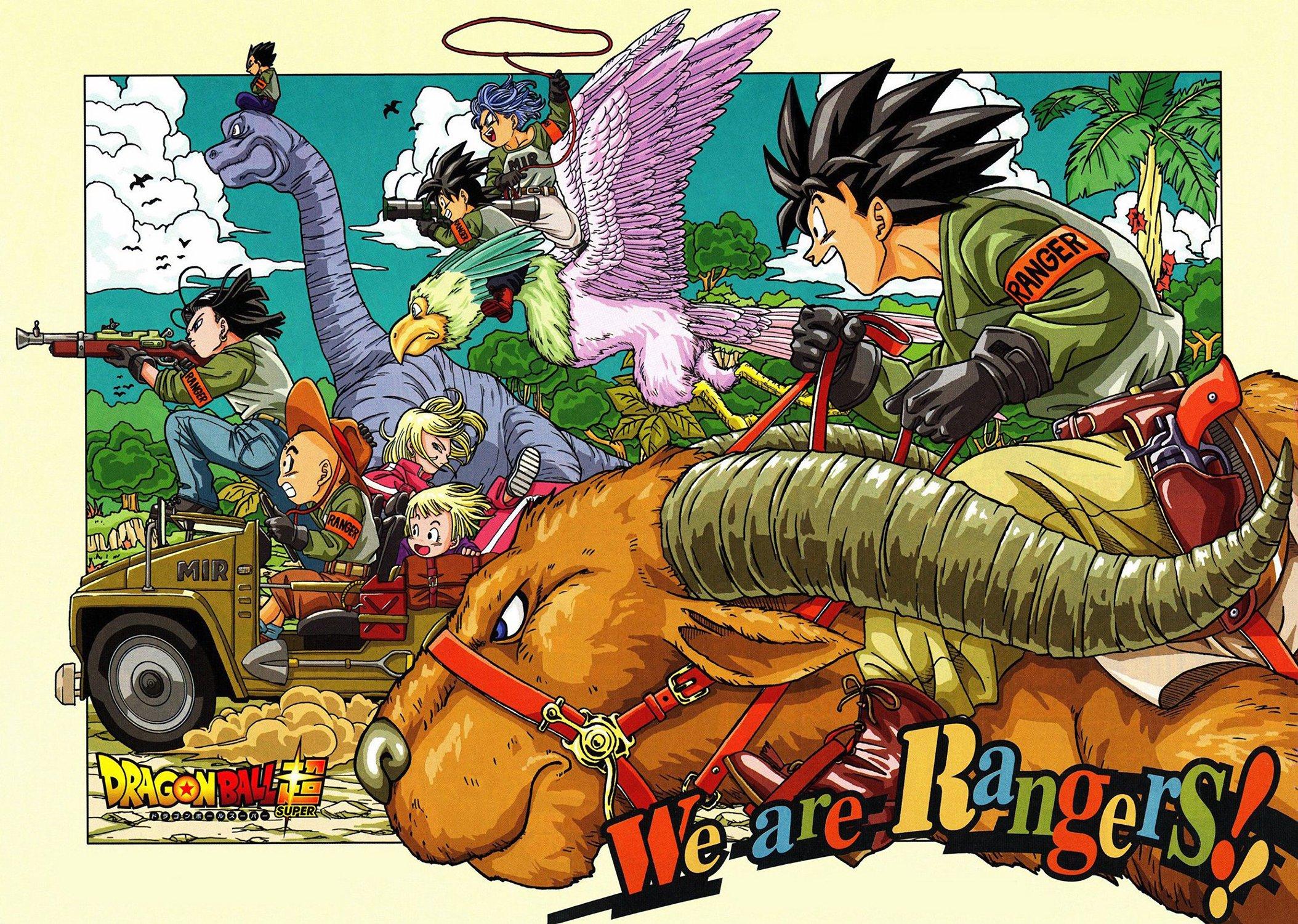 Dragon Ball Super Manga Illustration