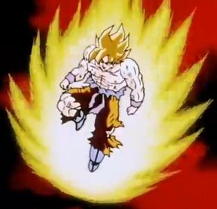 File:Namek's Explosion - Goku's End - Goku 2.PNG