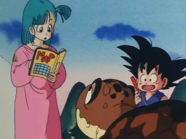 File:Goku offering to help sea turtle.jpg
