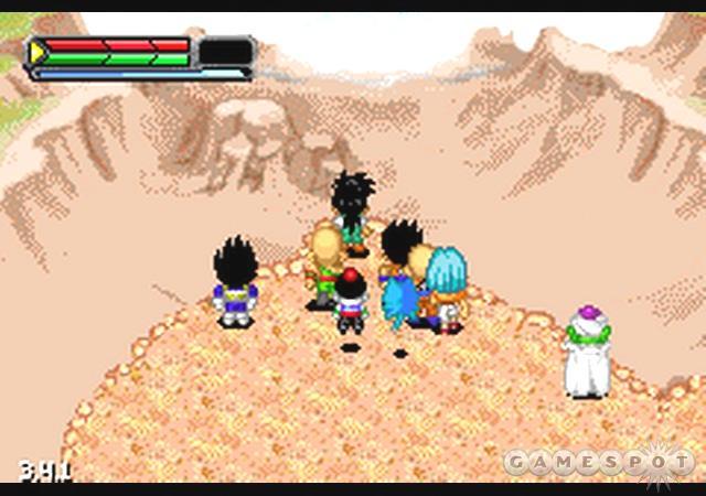 dragon ball z legacy of goku 2