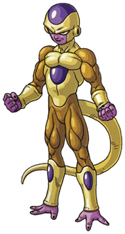 Golden Freeza toriyama art
