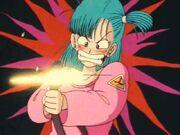 Bulma shoots goku