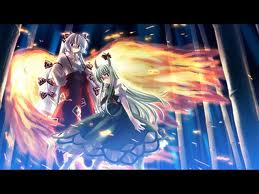 File:Mokou and Wereperson that I cant recall the spelling of her name..jpg