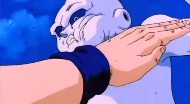 File:The Old Kai's Weapon - Gohan hits Ghost.PNG