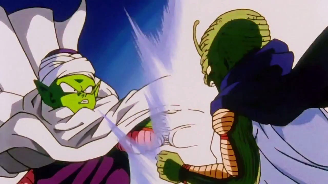 Image result for kami splitting  with king piccolo