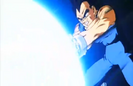 Vegeta's Respect - Vegeta attacks