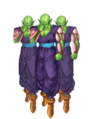 Piccolo Clone Army render