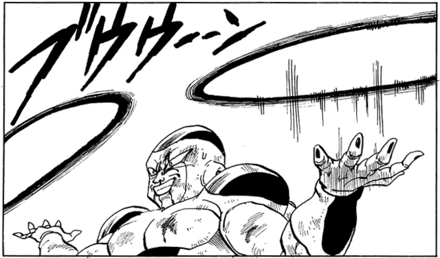 File:DBZ Manga Chapter 326 - Frieza Homing Destructo Disks.PNG