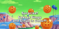 Surprise! Goku is Ginyu and Ginyu is Goku?!