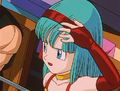 Bulla rubs her head