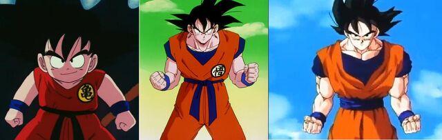 File:Goku comparison.JPG