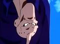 The Evil of Men - Evil Buu mad looking at Van Zant upside down