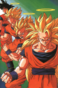 File:Three Super Saiyan Stages of Son Goku.png