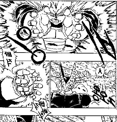 File:DBZ Manga Chapter 384 - Vegeta Final Flash 2.png