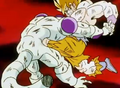 Frieza Defeated!! - Frieza kneed