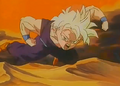 Gohan fighting a monster