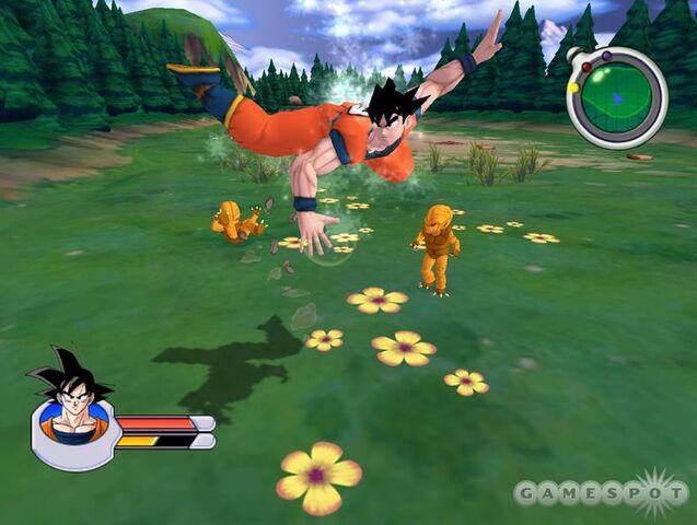 File:Goku Gold Saibamen Sagas 2.jpg
