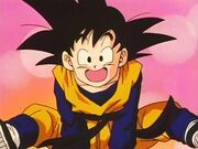 Son Goten as a child