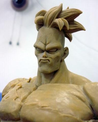 File:Pre-sculpt recoome modelkit e.jpg