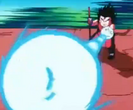 The Biggest Crisis - Goku attacks